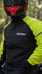 4Riders - 4Riders Comfort Yağmurluk Takım (Siyah) (Thumbnail - )
