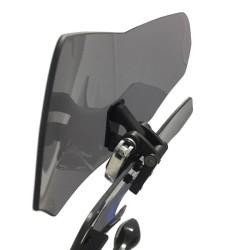 4Riders - Asansörlü Rüzgar Deflektörü S100 Aluminyum (Thumbnail - )