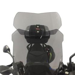 4Riders - Asansörlü Rüzgar Deflektörü S100 Siyah (Thumbnail - )