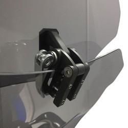 4Riders - Asansörlü Rüzgar Deflektörü S101 Aluminyum (Thumbnail - )