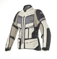Clover - Clover GTS-4 Airbag Korumalı Motosiklet Ceketi (Kum Beji) (Thumbnail - )