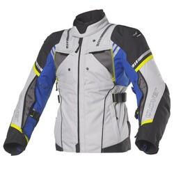 Clover - Clover HyperBlade WP Korumalı Motosiklet Ceketi (Koyu Gri) (Thumbnail - )
