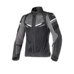 Clover - Clover RainJet WP Korumalı Motosiklet Ceketi (Siyah) (Thumbnail - )