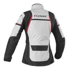 Clover - Clover Storm-3 WP Kadın Korumalı Motosiklet Ceketi (Gri) (Thumbnail - )