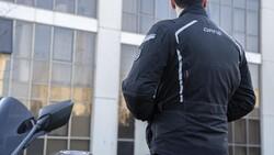 Dane - Dane Bremdal XPR-TEX Korumalı motosikletçi Montu (Siyah/Gri/Kırmızı) (Thumbnail - )