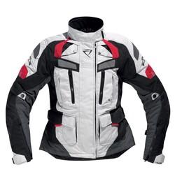 Difi - Difi Desert Ride Kadın Korumalı Motosikletçi Montu (Siyah/Gri/Kırmızı) (Thumbnail - )
