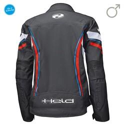 Held - Held Baxley Kadın Korumalı Motosiklet Montu (Siyah/Kırmızı/Mavi) (Thumbnail - )