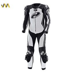 Held - Held Full-Speed Korumalı Motosiklet Tulumu (Beyaz/Siyah) (Thumbnail - )