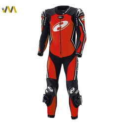 Held - Held Full-Speed Korumalı Motosiklet Tulumu (Kırmızı / Siyah) (Thumbnail - )