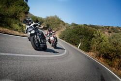 Held - Held Hashiro 2 Sport Korumalı Motosiklet Montu (Siyah / Beyaz / Kırmızı) (Thumbnail - )
