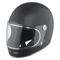 Held - Held Root Retro Kapalı Motosiklet Kaskı (Mat Siyah) (Thumbnail - )