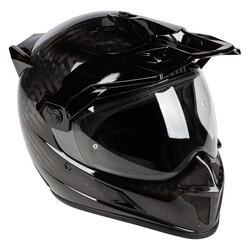 Klim - Klim Krios Karbon Adv Motosiklet Kaskı (Parlak Karbon) (Thumbnail - )