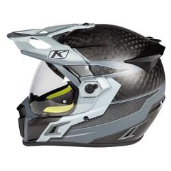 Klim - Klim Krios Pro Karbon Adv Motosiklet Kaskı (Arsenal Gri) (Thumbnail - )