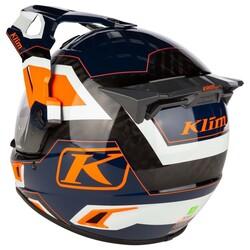 Klim - Klim Krios Pro Karbon Adv Rally Striking Motosiklet Kaskı (Oranj) (Thumbnail - )