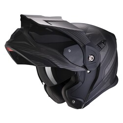 Scorpion - Scorpion ADX-1 Adv Tucson Motosiklet Kaskı (Mat Siyah Karbon) (Thumbnail - )
