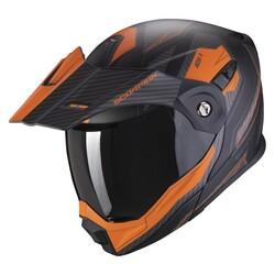 Scorpion - Scorpion ADX-1 Adv Tucson Motosiklet Kaskı (Siyah Turuncu) (Thumbnail - )
