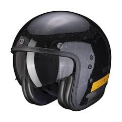 Scorpion - Scorpion Belfast Shift Açık Motosiklet Kaskı (Siyah Gold) (Thumbnail - )