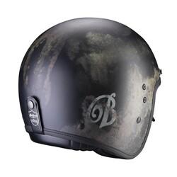 Scorpion - Scorpion Belfast Tempus Açık Motosiklet Kaskı (Siyah) (Thumbnail - )