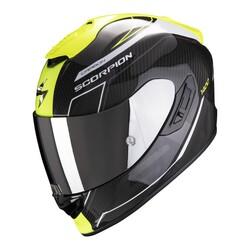 Scorpion - Scorpion Exo 1400 Air Karbon Beaux Kapalı Motosiklet Kaskı (Sarı) (Thumbnail - )