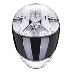 Scorpion - Scorpion Exo 390 Clara Kapalı Motosiklet Kaskı (Beyaz Gri) (Thumbnail - )