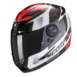 Scorpion - Scorpion Exo 490 Tour Kapalı Motosiklet Kaskı (Beyaz Kırmızı) (Thumbnail - )