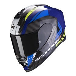 Scorpion - Scorpion EXO R1 Air Halley Spor Motosiklet Kaskı (Mavi / Sarı) (Thumbnail - )