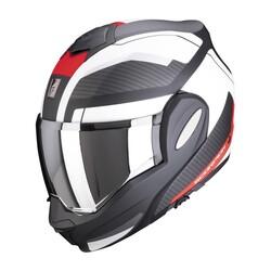 Scorpion - Scorpion EXO TECH Trap Çene Açılabilir Motosiklet Kaskı (Siyah/Kırmızı) (Thumbnail - )