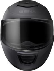 Sena - Sena Momentum EVO Mesh Smart (Akıllı) Motosiklet Kaskı (Mat Siyah) (Thumbnail - )